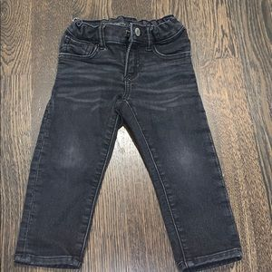 Super soft black jeans from baby GAP - boys 2T